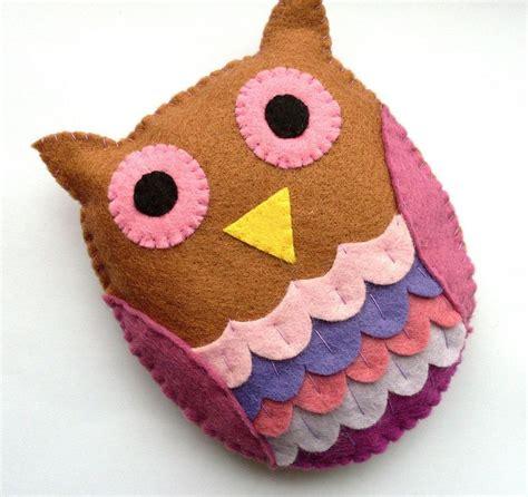 Handmade Felt Craft Patterns - 17 best ideas about felt owl pattern on felt