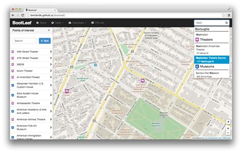 templates bootstrap maps github bmcbride bootleaf template for building simple