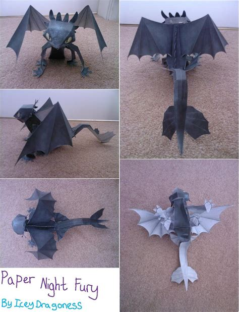 Fury Papercraft - paper fury by iceydragoness on deviantart