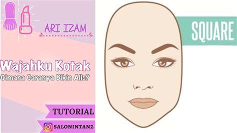 cara membuat alis wajah persegi tutorial membuat alis untuk wajah persegi cara buat alis