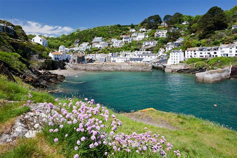 cottage cornovaglia polperro harbour view cornwall guide
