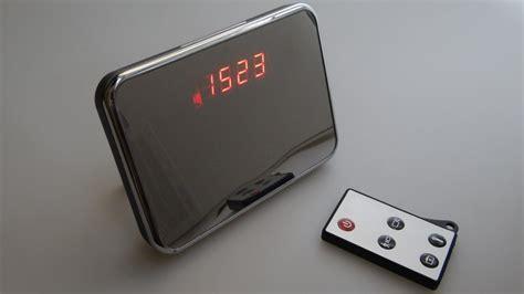 spy camera alarm clock youtube