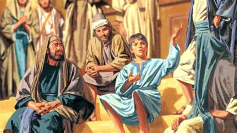 jesus teaching in the temple as a boy coloring page chapter 9 the boy jesus