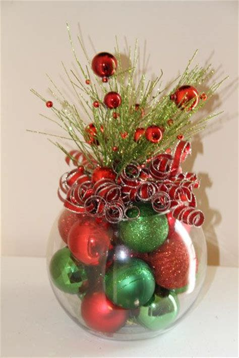christmas table decor centerpiece red and green for
