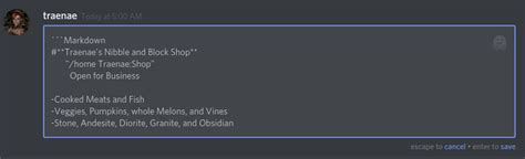 discord color text markdown text 101 chat formatting bold italic