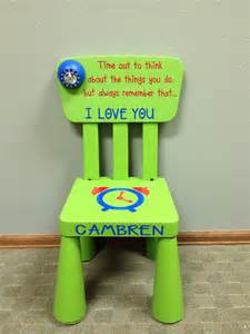 time out chair with timer items similar to personalized time out chair with timer light green on etsy