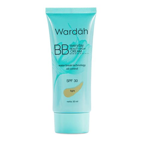 Harga Wardah Bright spesifikasi harga wardah everyday bb light 15ml