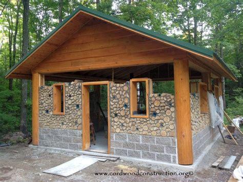 cordwood log homes woodshop projects misc log homes