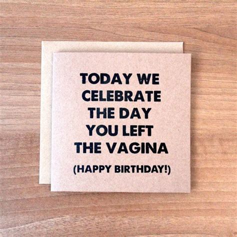 Rude Birthday Cards For Best 25 Rude Birthday Cards Ideas On Pinterest Rude