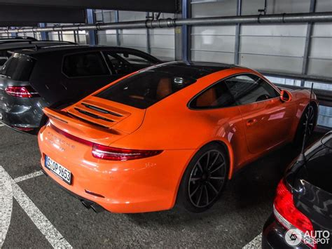 orange porsche orange porsche 991 c4s looks like