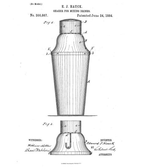 martini shaker drawing best selling cocktail shaker created in 1884 why