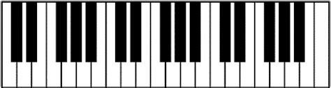 piano template piano of