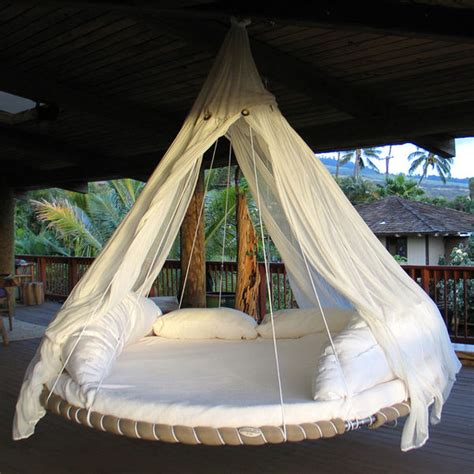outdoor floating bed circular ceiling beds floating bed
