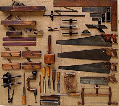 18th century woodworking tools starting out