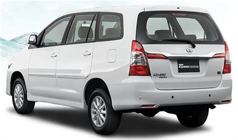 Innova Grand All New 2016 Reborn Outer Chrome toyota innova gets one more facelift before new model in 2016