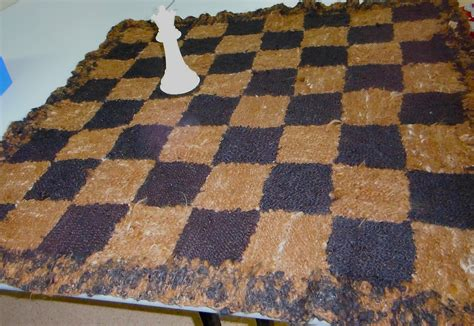 chess rug june 2015 central coast handweavers spinners textile arts guild