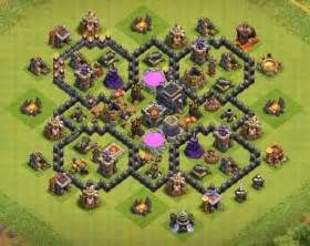 16 best coc town hall th7 trophy bases 2016 3 air defenses