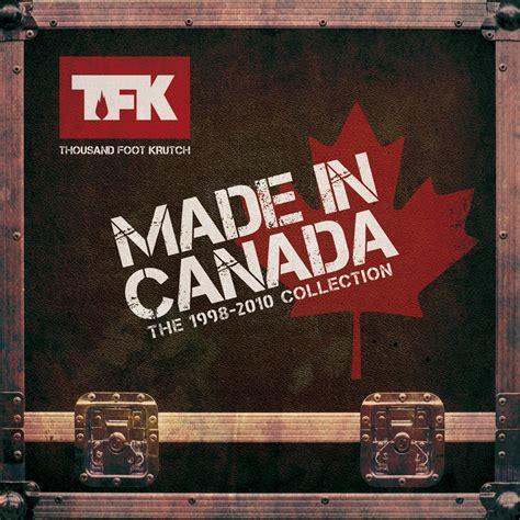 Thousand Foot Krutch Made In Canada The 1998 2010 - thousand foot krutch fanart fanart tv