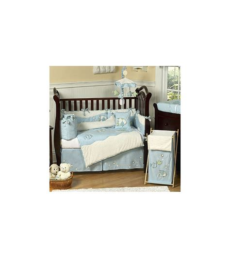 Sweet Jojo Designs Go Fish 9 Piece Crib Bedding Set Fishing Crib Bedding