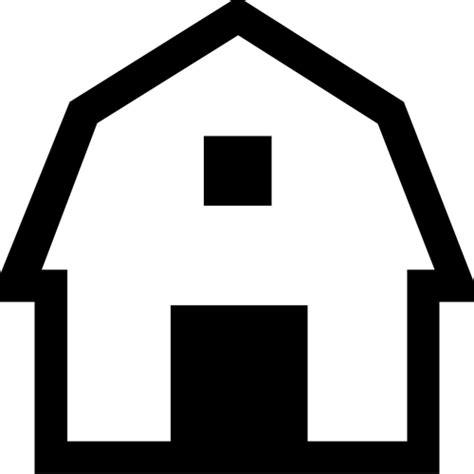 scheune icon scheune symbol vektor bild domain vektoren