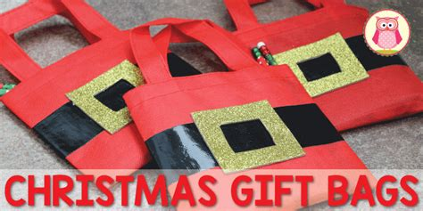 christmas gift bags for kids santa bags early learning