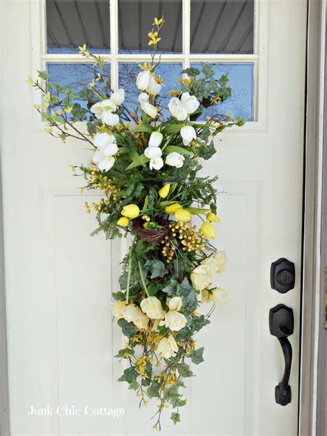 Front Door Swags Front Door Swags Bells Evergreen Swag Door Decor By Collections Etc
