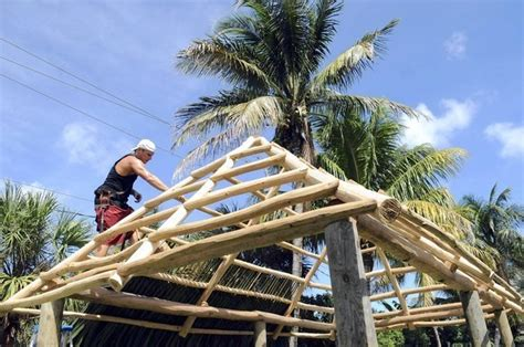 How To Build A Tiki Hut Roof tiki huts often violate south florida zoning sun