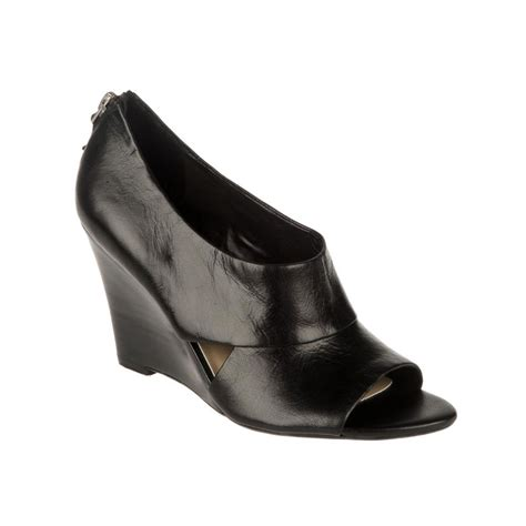 franco sarto wedge sandals in black lyst