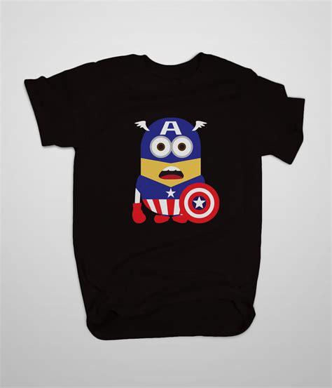 T Shirt Just Do Me 3 High Quality despicable me minion captain america t shirt s 3xl high quality custom t shirts t shirts tank
