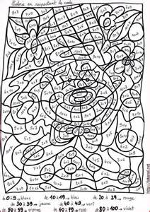 Coloriage Magique Multiplication Ortho Pinterest