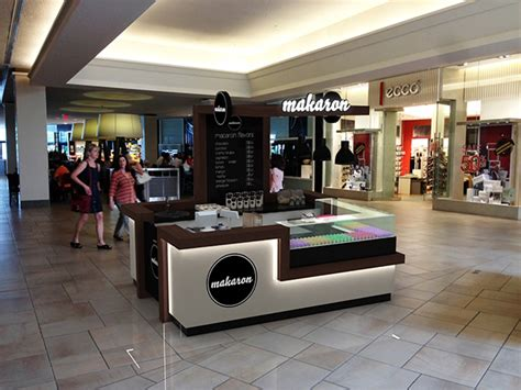 design booth minuman makaron shopping mall stand design toronto on behance