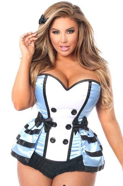 Bustier Premium Satin Tali 7 136 Best Plus Size Corset Costumes Images On