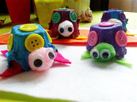 craft projects with egg cartons egg craft ideas for crafts projects