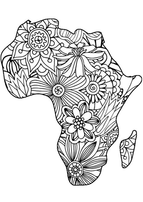 africa coloring pages coloring pages coloring pages and coloring on