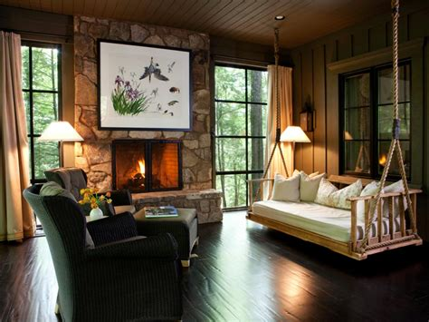home decor hgtv rustic retreats luxurious style interior design styles