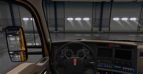 T680 Interior by Kenworth T680 Blue Interior Mod Mod