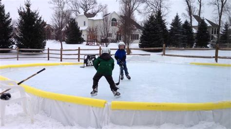 Backyard Skating Rink Kit by Nicerink Backyard Rink Kit
