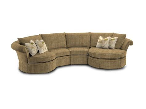curved sofas superstyle 9691 curved condo sofa stoney