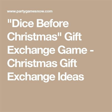 1000 ideas about gift exchange games on pinterest