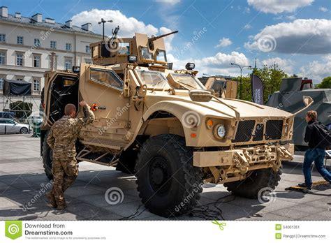 osh b gosh all terrain oshkosh m atv vehicle editorial photo image
