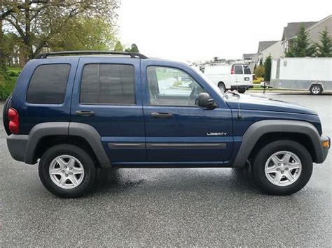 04 Jeep Liberty Mpg Find Used 04 Jeep Liberty Sport Freshly Rebuilt Trans