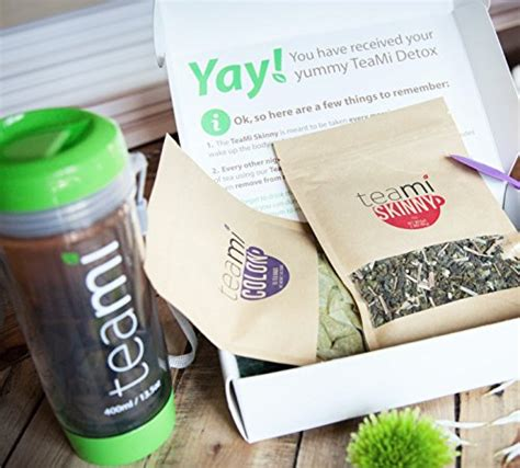 Teami Blends 30 Day Detox by Complete 30 Day Detox Tea Kit By Teami Blends Best For