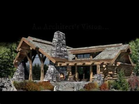 Mountain Chalet House Plans Award Winning Caribou Log Home Plan Inspires Homes Across