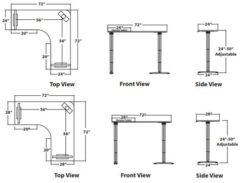 Ikea Kitchen Pantry Cabinet vox adjustable perfect corner desk free shipping