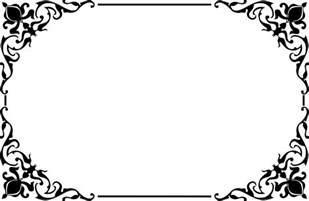decorative borders clipart decorative ornamental frame border 2