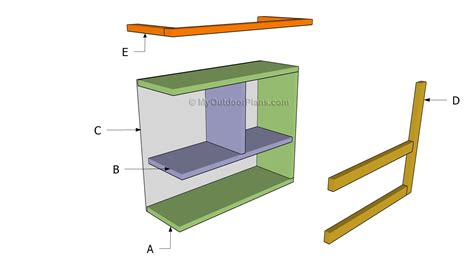 building bathroom shelves how to build bathroom shelves myoutdoorplans free