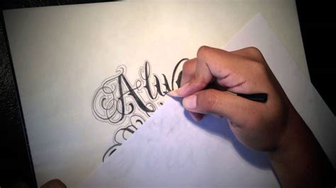 tattoo fonts youtube script letters images for tatouage