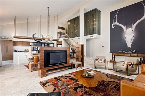 fireplace for apartment apartments modern living room bohemian beautiful eclectic loft apartment rbc bletchley by jodie