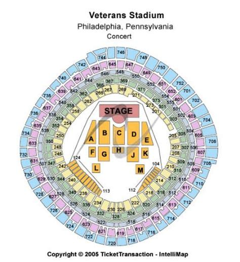 the broad stage seating chart veterans stadium tickets and veterans stadium seating