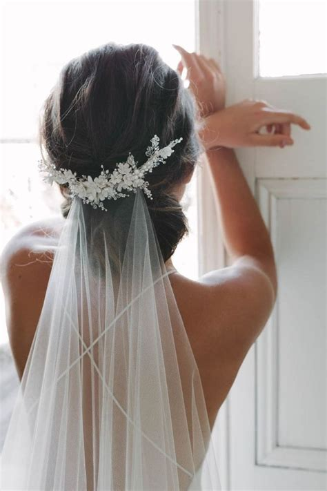 Wedding Hairstyles With Veils by 17 Best Ideas About Veil Hair On Veil